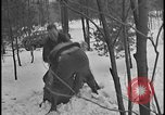 Image of Ford Executive Harry Bennett and friends frolic in snow Tawas Michigan USA, 1924, second 12 stock footage video 65675078270