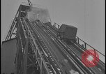 Image of Ford Motor Company iron ore mine in winter snow Dearborn Michigan USA, 1928, second 10 stock footage video 65675078280